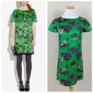 Madewell Broadway & Broome Mossbluff Green Dress